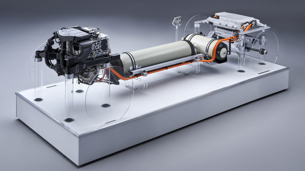 BMW vodíkový pohon