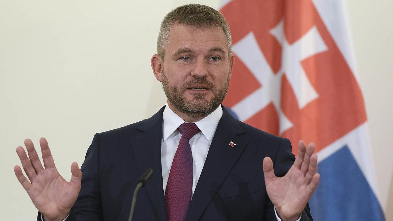 Cílem slovenské vlády premiéra Petera Pellegriniho byly vyrovnané veřejné finance. To se ale nedaří.