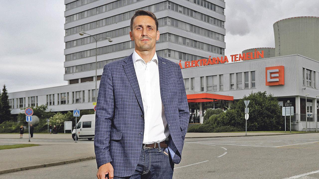Bohdan Zronek, člen představenstva společnosti ČEZ a ředitel její divize Jaderná energetika.