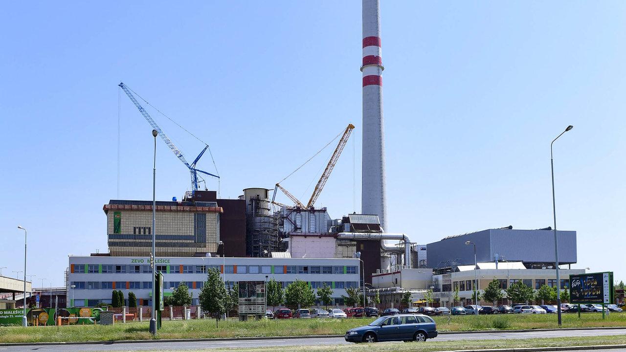 Česko má nyní čtyři spalovny komunálního odpadu, jedna z nich stojí v pražských Malešicích.