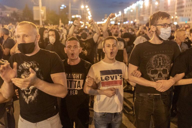 bělorusko, protesty