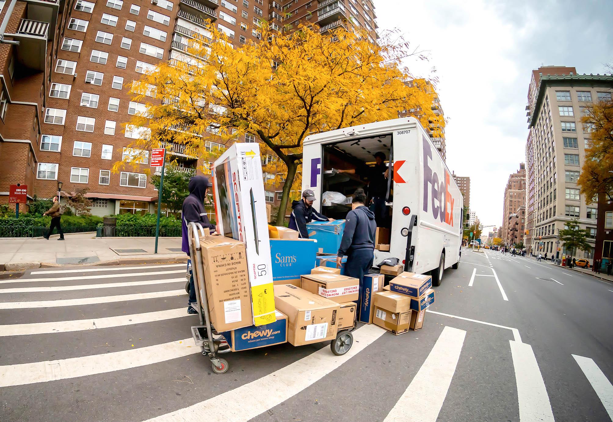 VAmerice navázala Zásilkovna spolupráci sjedničkou tamního trhu,společností Fedex.