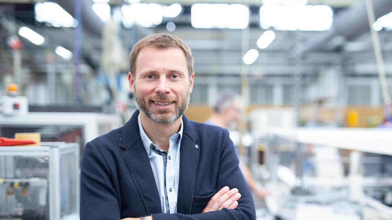 Tomáš Dudák, generální ředitel firmy Spur