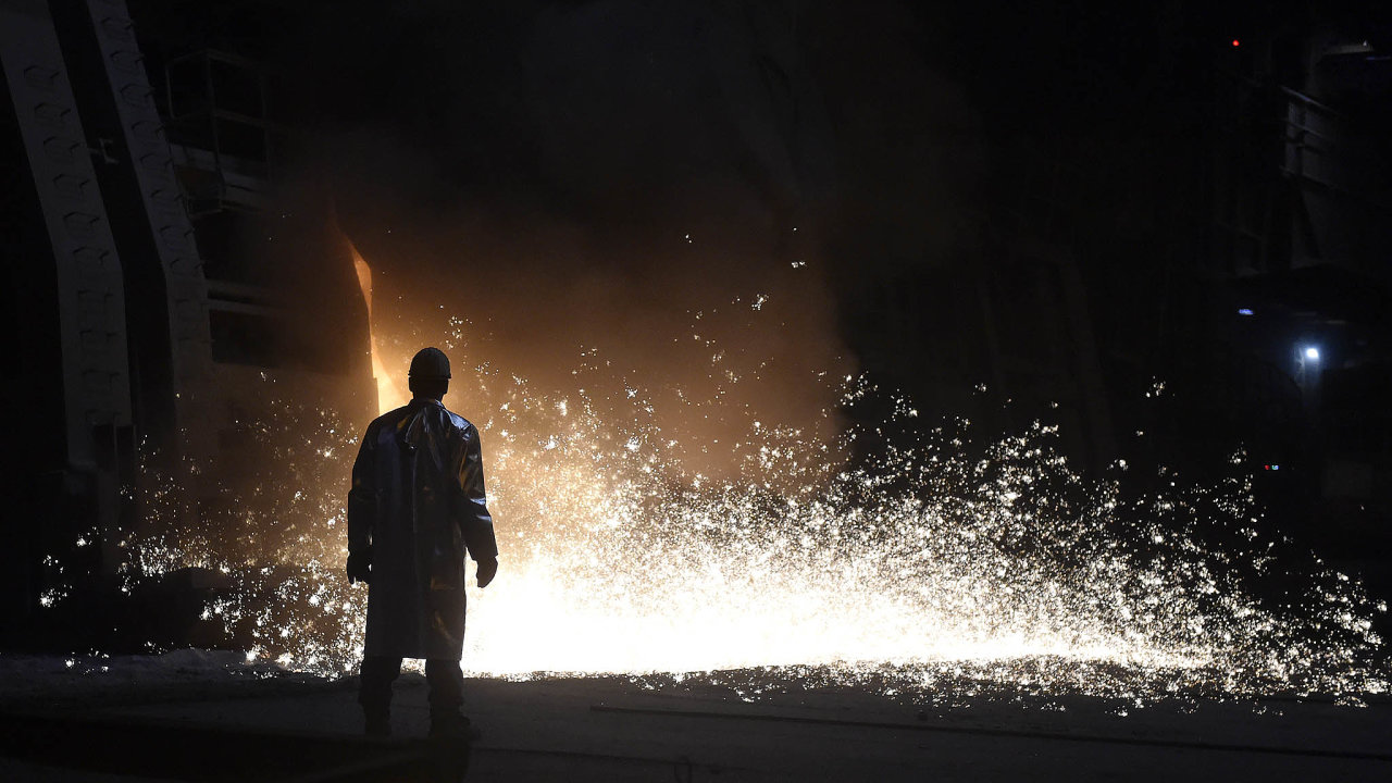 Ostravská ocelárna Liberty.