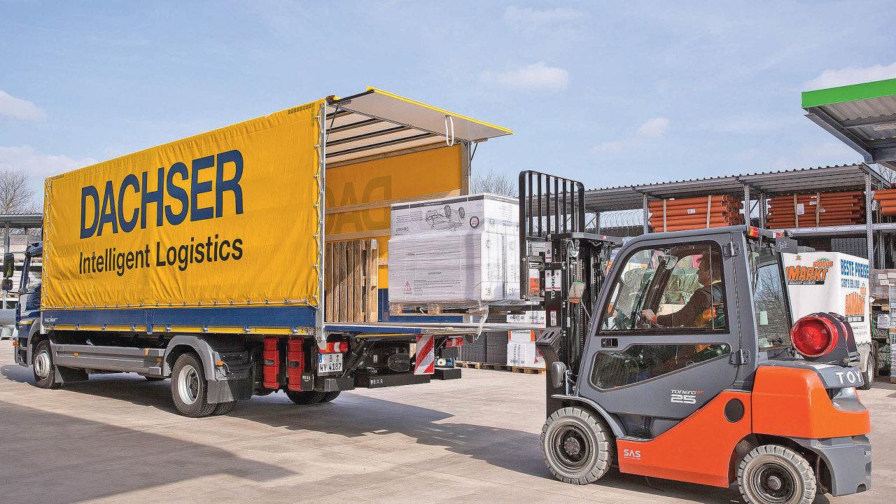 Pro optimální vytížení kapacity nákladních vozidel je potřeba mít kdispozici nejen dostatečně široké portfolio zásilek, ale izákazníků.
