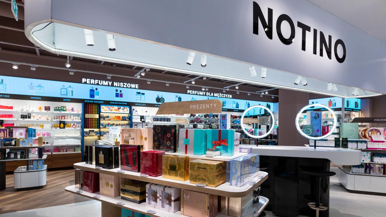 Notino proniklo mimo on-line prostor také do klasického maloobchodu. V Česku má sedm kamenných prodejen, v zahraničí už 19.