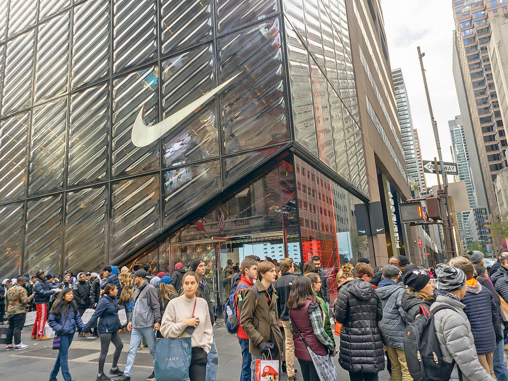 Společnost Nike navzdory koronaviru prosperuje