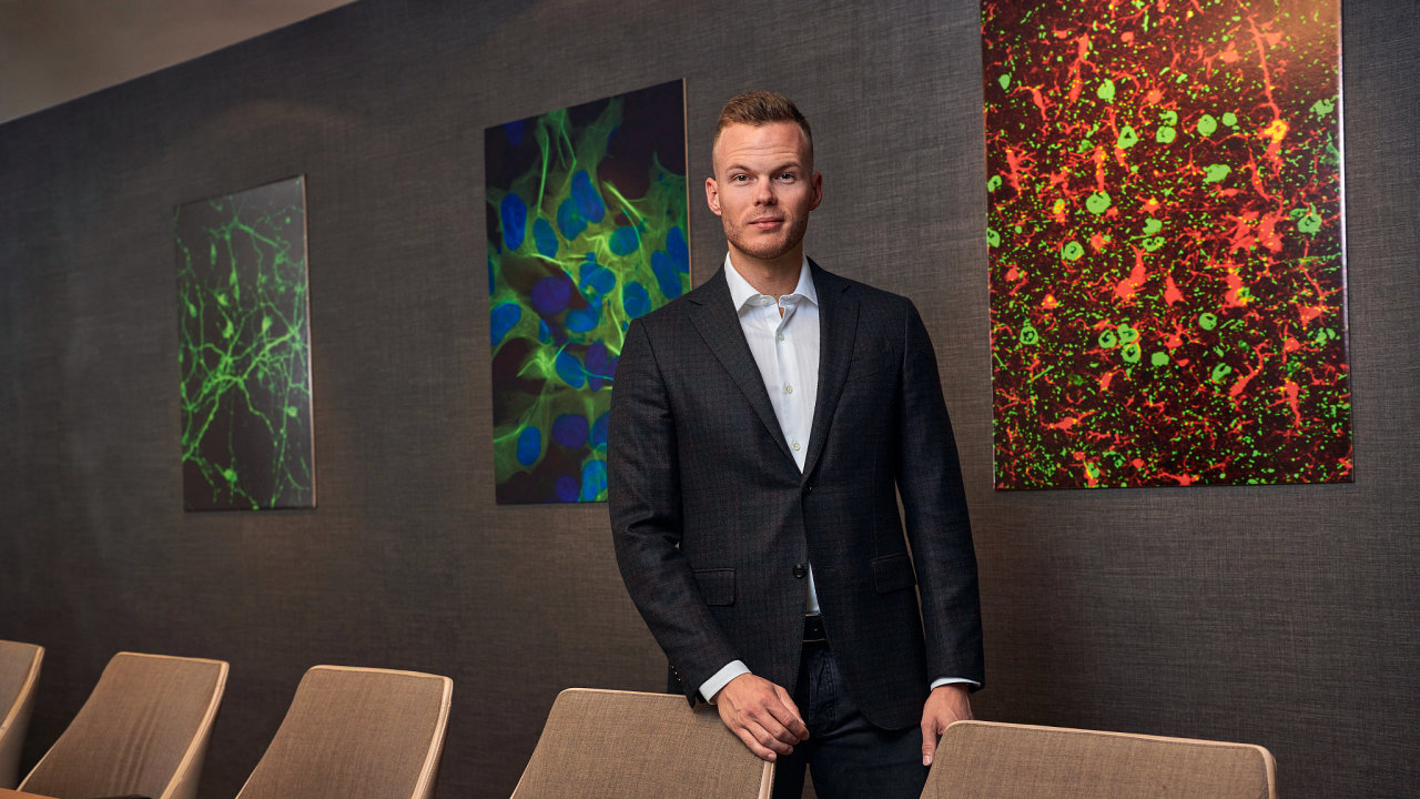 Šéf Axon Neuroscience Michal Fresser.