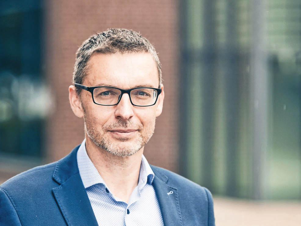 Generální ředitel lokální pobočky Kuehne+Nagel Miroslav Pudil