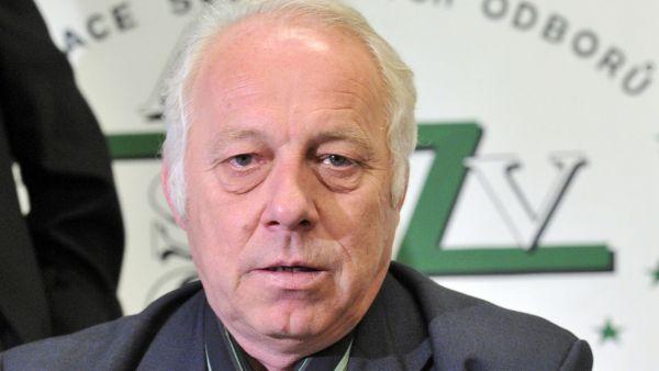 Šéf Asociace samostatných odborů Bohumír Dufek