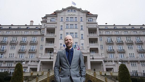 Čechorus Alexandr Rebjonok, generální ředitel společnosti Imperial Karlovy Vary