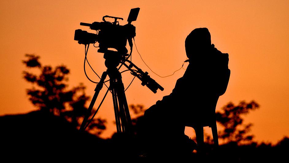 Natáčení filmu, ilustrační foto