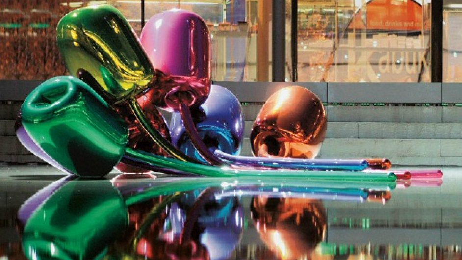 Jeff Koons Tulips