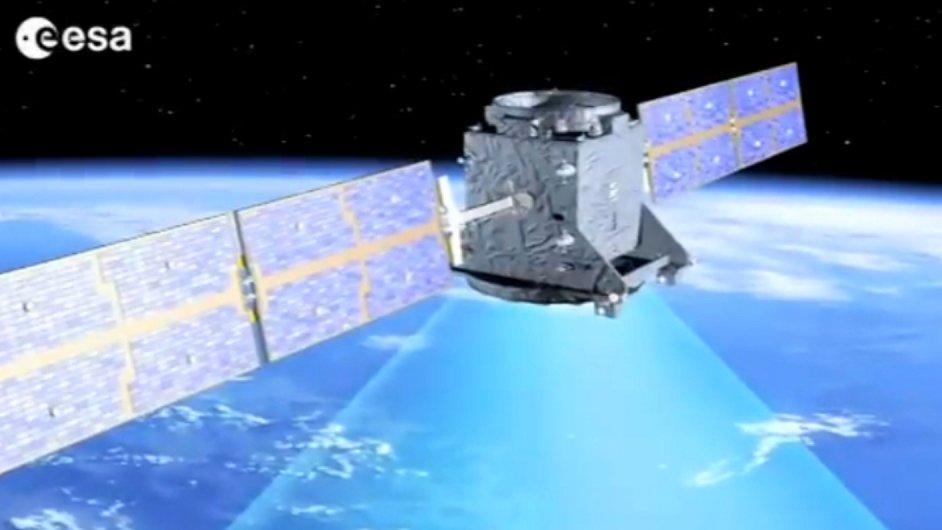 Družice navigačního systému Galileo