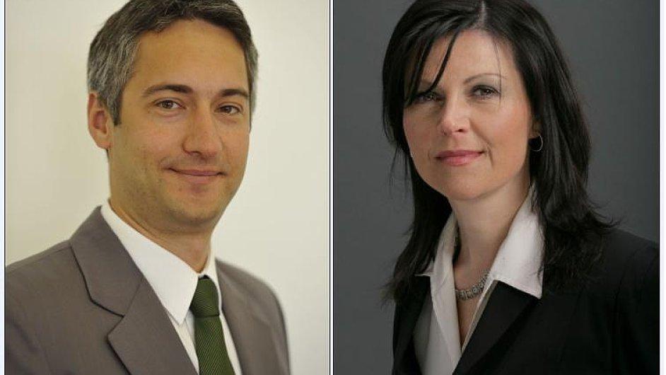 Martin Krčmář a Zuzana Císařová