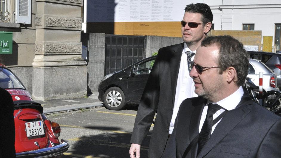 Petr Kraus (vpravo)