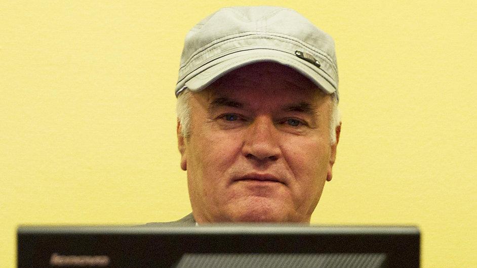 Ratko Mladić v Haagu