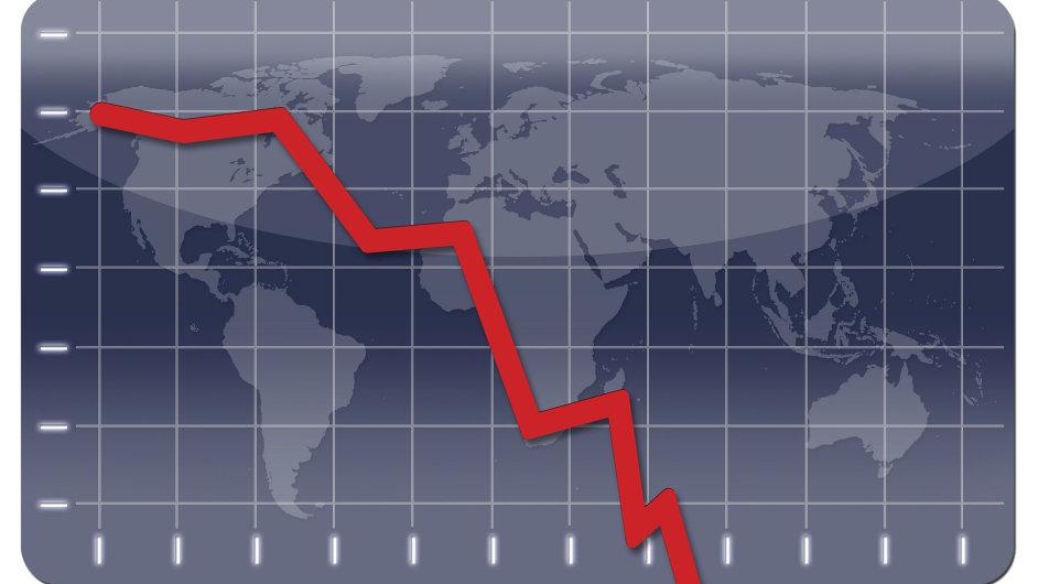 Světová ekonomická krize, ilustrační foto