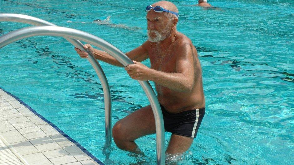 Sportující penzista