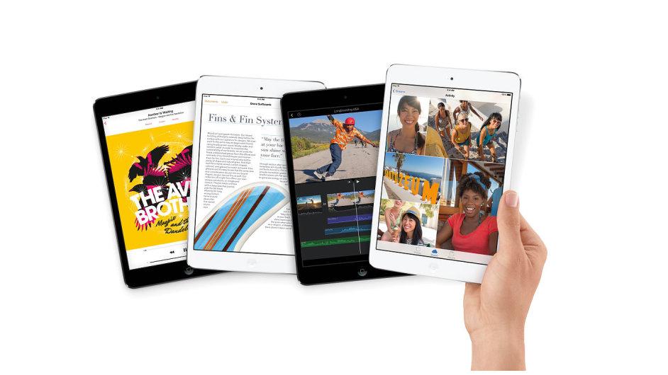 iPad mini s retina displejem