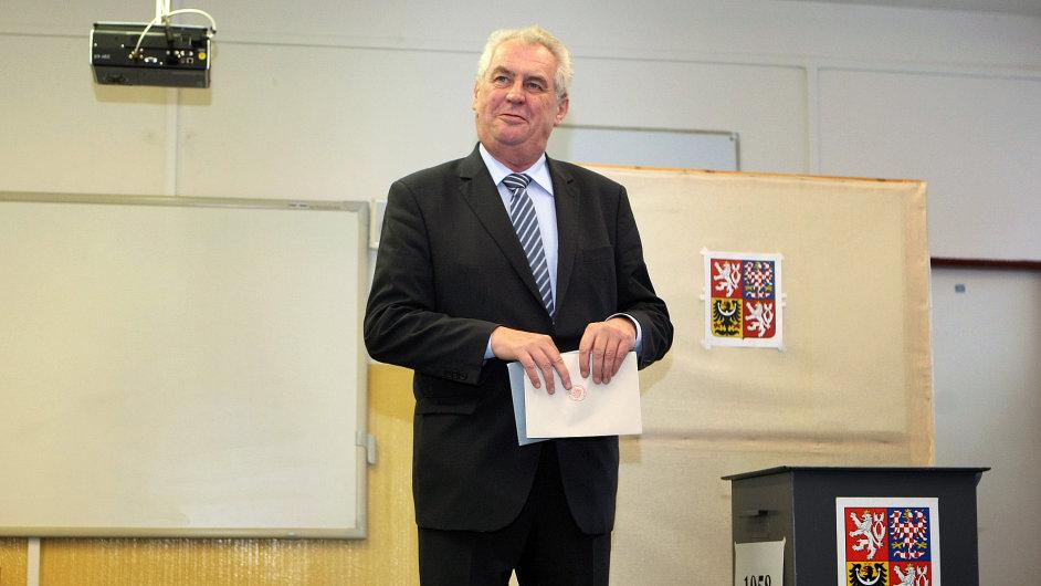 Volby 2013 - Miloš Zeman