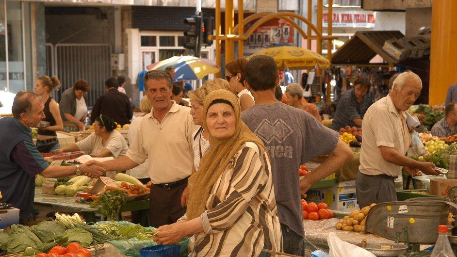 Trh v Sarajevu