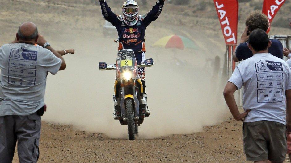 Marc Coma v cíli Dakaru