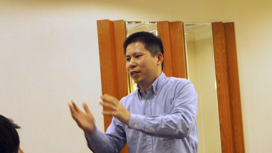 Čínský aktivista proti korupci a za lidská práva Sü Č'-junga
