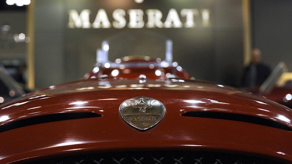 Čtyři auta značky Maserati uvidí návštěvníci Národního technického muzea v Praze.