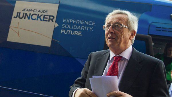 Kandidát na šéfa unijní komise Jean-Claude Juncker