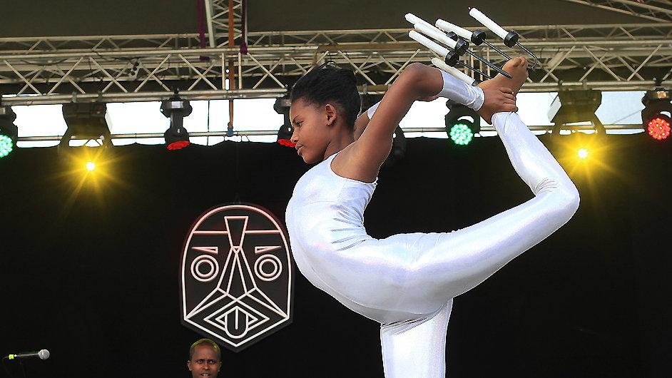 Circus Debre Berhan z Etiopie oživil program festivalu Respect.