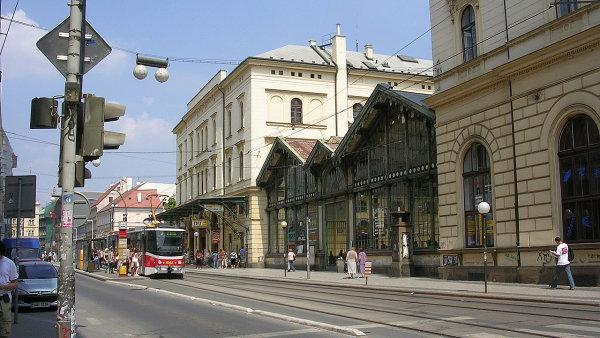 Masarykovo n�dra��, pohled z Havl��kovy ulice