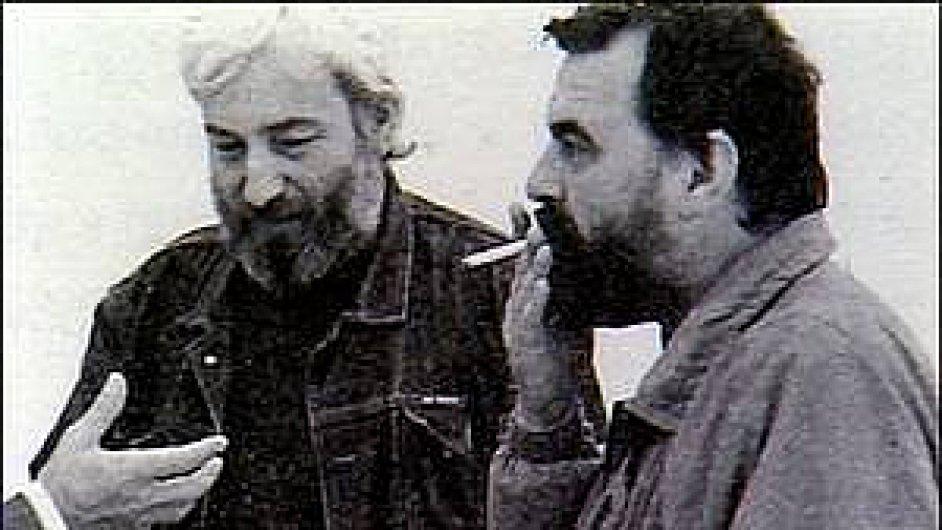 Na archivním snímku Dežo Ursiny a Ivan Štrpka