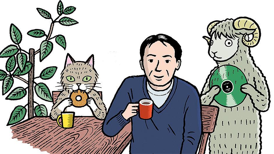 Úvodní snímek z internetové poradny Harukiho Murakamiho
