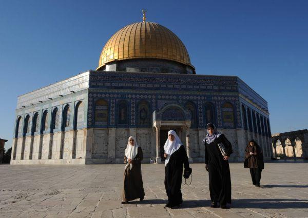 Skalní dóm, islámská svatyně v centru Chrámové hory