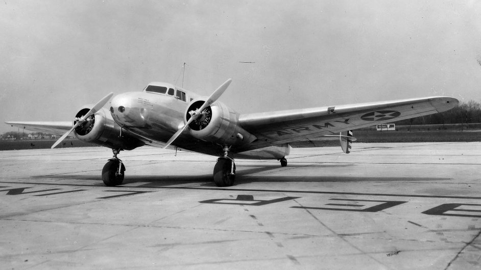 Baťovo letadlo Lockheed Electra 10A se vrací do Čech - Ilustrační foto.