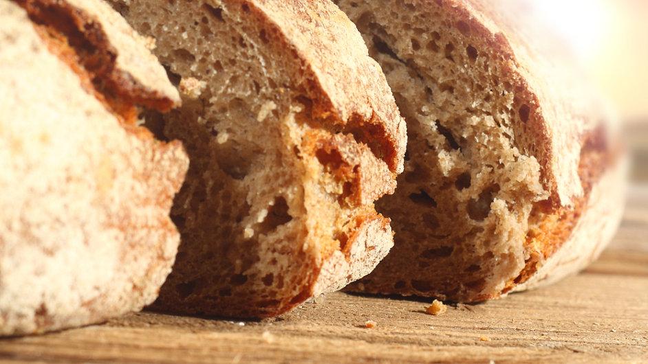 Chléb - ilustrační foto.