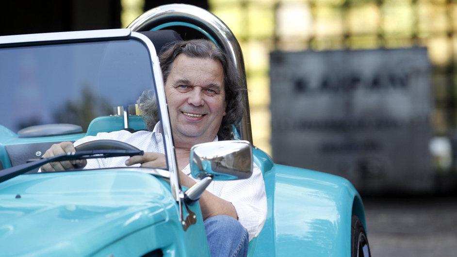 Michal Hradský si plní sny ve vlastní automobilce Kaipan.