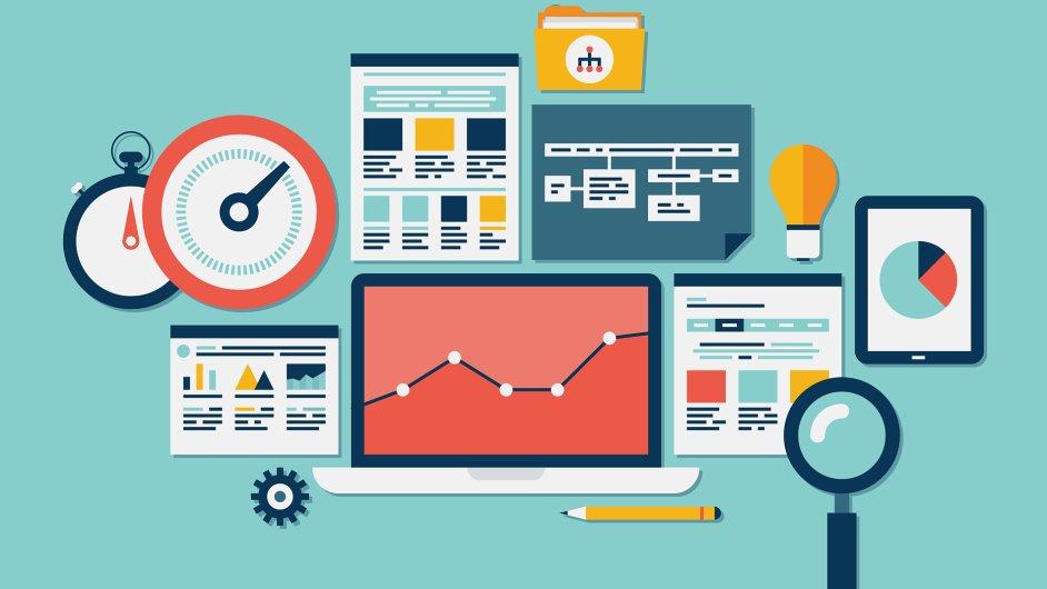 Měření výkonnosti webu - Ilustrační foto