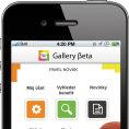 Aplikace Gallery �eta pro chytr� telefony.