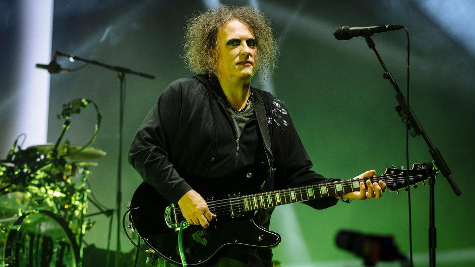 Snímek z koncertu The Cure