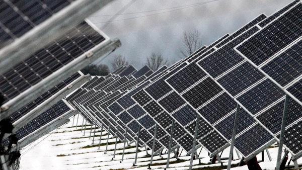 Novou licencí pro solární elektrárnu v Chomutově by se měl zabývat Energetický regulační úřad.