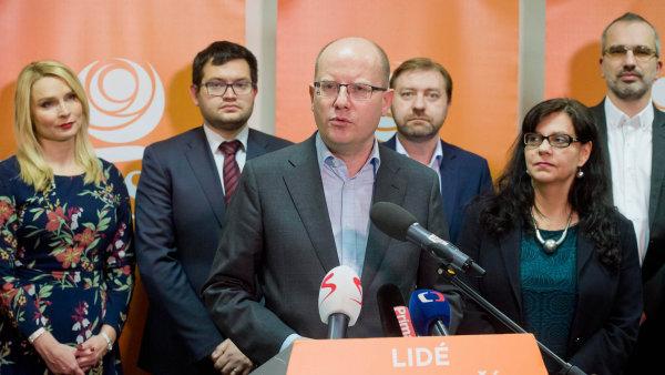 Sobotka na zasedání širšího vedení strany mluvil otevřeněji než na veřejnosti - Ilustrační foto.