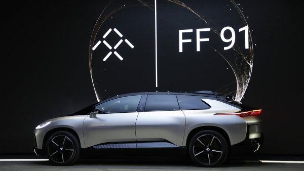 Nový elektromobil společnosti Faraday Future FF91