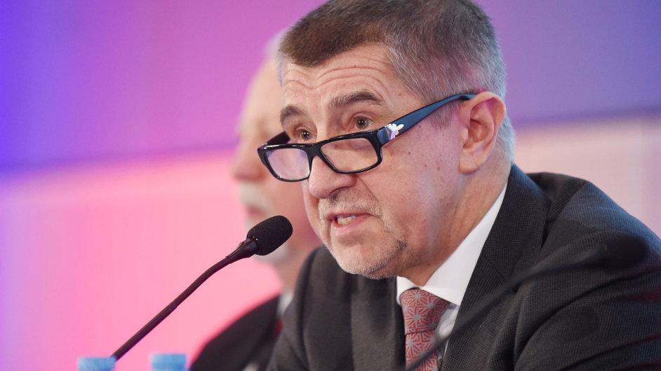 Ministr financí Andrej Babiš