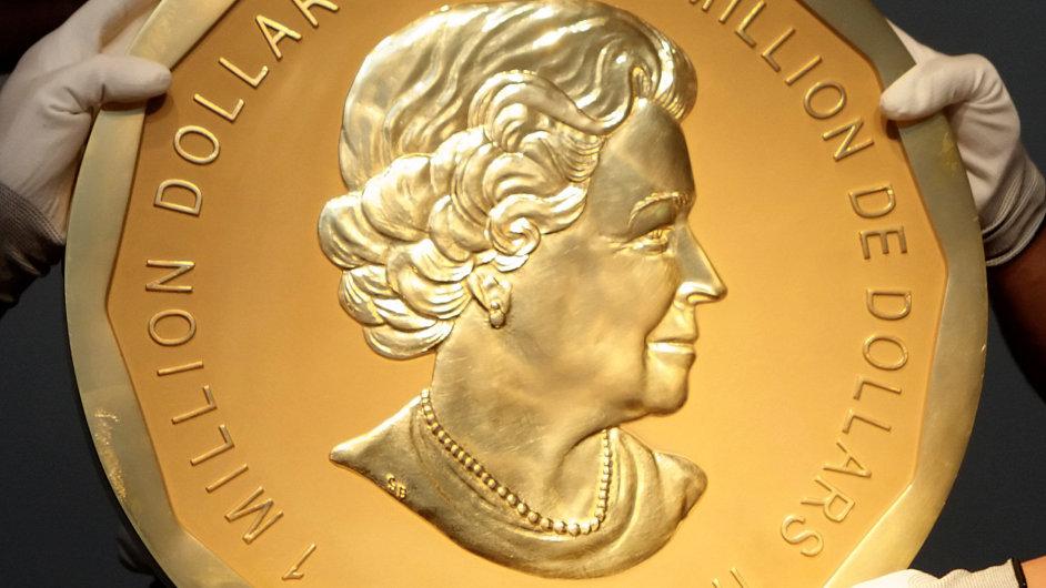 Z berlínského muzea ukradli stokilovou zlatou minci.