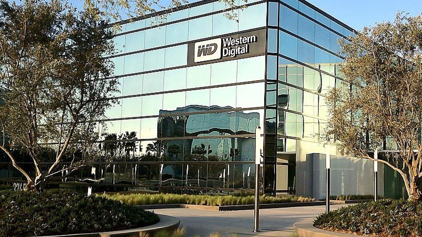 Western Digital chce získat exkluzivitu při prodeji divize čipů Toshiby