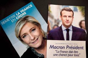 Dva Francouzi ve městě: Proč si podporovatel Macrona myslí, že by Češi volili Le Penovou?