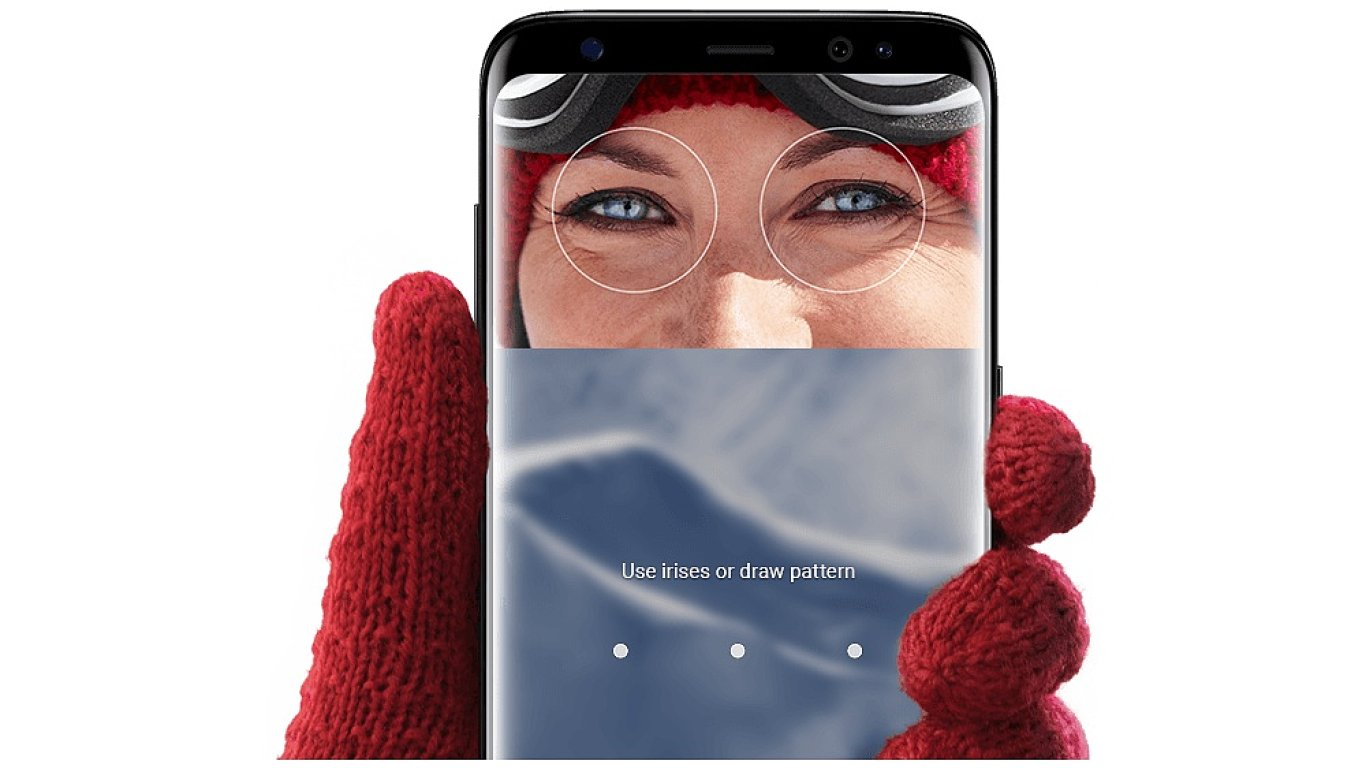 Odemykání telefonu pomocí senzoru využívajícího infračervené světlo