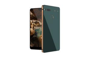 Zakladatel Androidu Andy Rubin ukázal svůj nový telefon Essential s vykousnutým displejem